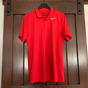 Red Nike Golf Polo 🏌🏼♂️ Size S